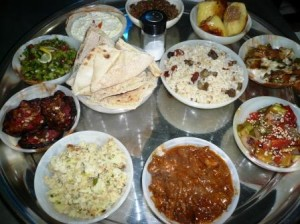 Egyptian Feast at Mara House
