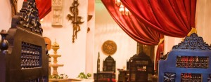 The authentic Egyptian restaurant at Mara House in Luxor Egypt