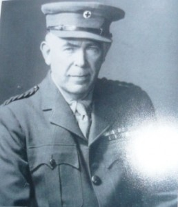 Gayer Anderson in British Army Officer Uniform
