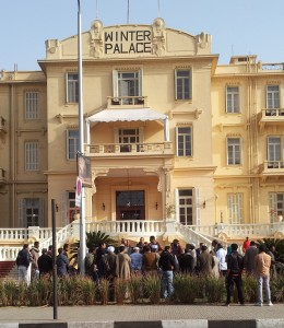 Winter Palace Luxor Workers on Strike!