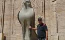David meets Horus :-)