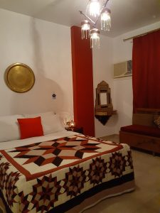 Master Bedroom in Exec Suite 7 at Mara House Luxor